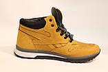 Зимние кожаные кроссовки желтого цвета. Размеры 40,41,43,45., фото 2