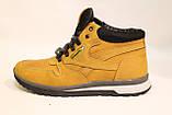 Зимние кожаные кроссовки желтого цвета. Размеры 40,41,43,45., фото 3
