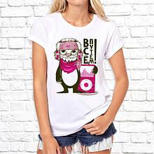 """Женская футболка с принтом  """"Все путем!"""" Push IT"""