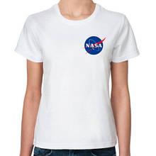 """Женская футболка с надписью """"NASA"""" Push IT"""