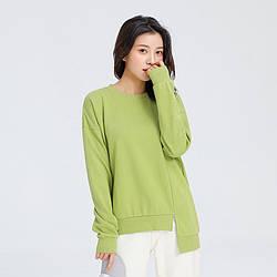 Свитшот женский Marseille, зеленый Berni Fashion (S)