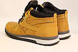 Зимние кожаные кроссовки желтого цвета. Размеры 40,41,43,45., фото 5