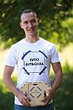 "Чоловіча футболка з написом ""Просто (тупо) футболка"" Push IT, фото 5"