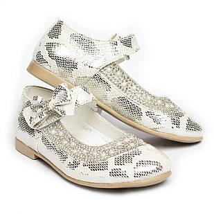 Нарядні туфлі для дівчинки, розмір 26, 27
