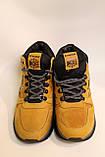Зимние кожаные кроссовки желтого цвета. Размеры 40,41,43,45., фото 6
