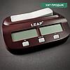 Шахматные часы электронные на батарейках LEAP Пластик Коричневый (СПО поп PQ99)