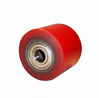 Ролик подвилочный 80х70 мм, чугун/полиуретан (Германия)