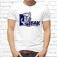 """Мужская футболка с принтом для рыбаков """"Рыбак"""" Push IT"""