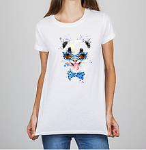Женская футболка с принтом Панда Push IT