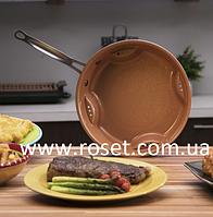Стальная cковорода для жарки без масла Steel Air Fry Pan