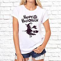 """Жіноча футболка з принтом """"Happy halloween"""" Push IT"""
