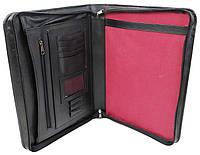 Кожаная деловая папка Portfolio Port1002 черная, фото 1