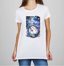 """Женская футболка с принтом Лошадь """"Born to Wander"""" Push IT"""