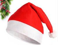 Детская Новогодняя шапочка Санта Клауса, фото 1