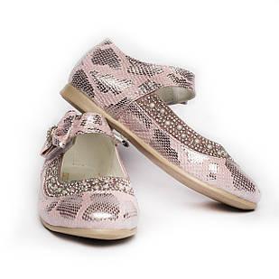Нарядні туфлі для дівчинки, розмір 26, 27, 28