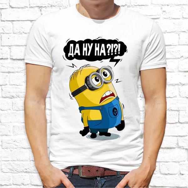 """Чоловіча футболка з принтом за мотивами мультфільму """"Міньйон"""" Push IT"""