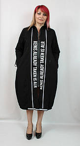 Турецкое женское платье свободного больших размеров 52-64