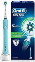 Електрична зубна щітка Oral-B Professional Care 500 СrossAсtion Від Braun