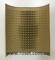 Коврик для массажа стопы резиновый от плоскостопии Onhillsport 26 × 26cm
