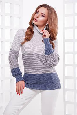 В'язаний светр під горло