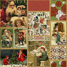 Ткань Новогодняя тематика, Рождество