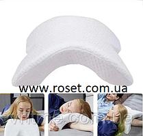 Ортопедическая подушка туннель с эффектом памяти Memory Foam Pillow