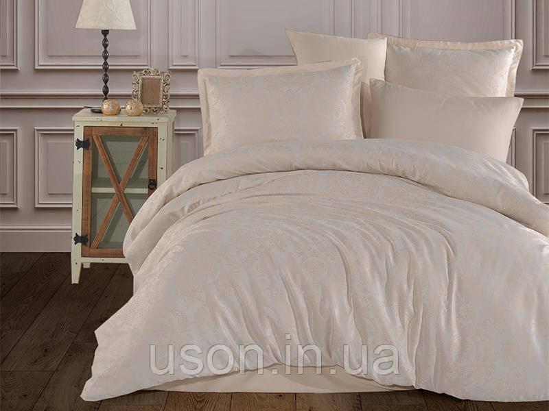 Комплект постельного белья Aran Clasy жакард размер евро Rossa V2
