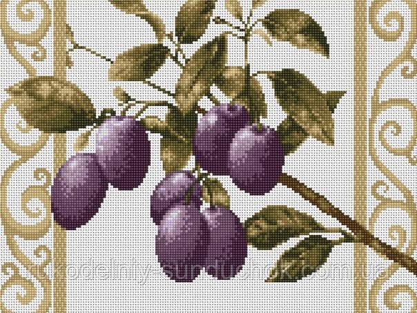 Набор для вышивки крестом Luca-S B278 Сливовая веточка