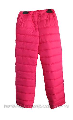 Детские тёплые штаны для девочек