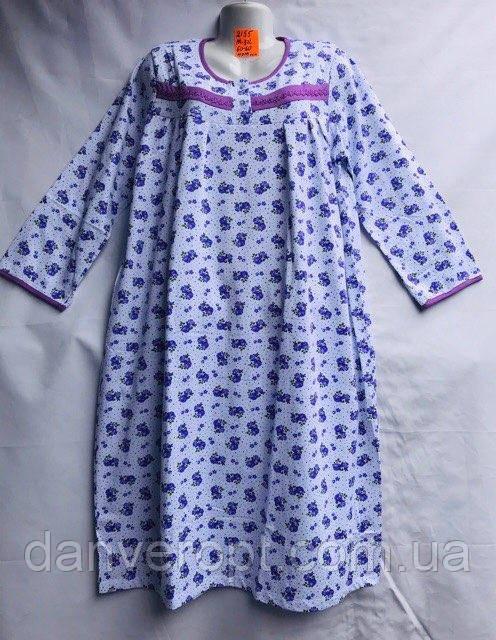 Ночная рубашка женская стильная размер M-3XL купить оптом со склада 7км Одесса