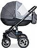 Дитяча універсальна коляска 2 в 1 Riko Brano 01 Carbon, фото 4