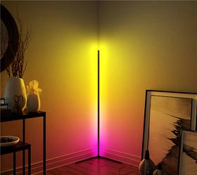 Напольный угловой LED Светильник RGB 1,6м