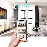 Wi-fi IP-Камера Відеоспостереження зі смартфона Відеоняня Cloud storage AP-288ZD + Безкоштовна доставка, фото 7