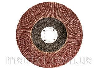 Круг лепестковый торцевой, P 120, 125 х 22,2 мм Т27 WERK