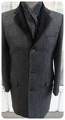 Пальто чоловіче West-Fashion модель UM-05-grey