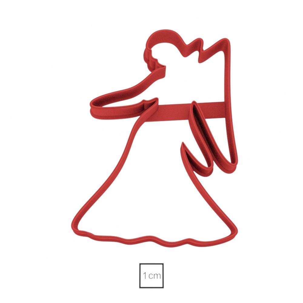 Висічка для пряників у вигляді Діви, як знаку Зодіаку
