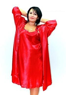 0e749d20ff0 Ночная рубашка и халатик в комплекте - шелк