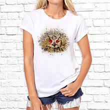 Женская футболка с принтом Сова 2 Push IT