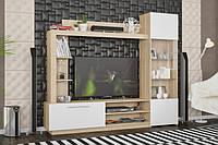 Гостиная стенка тумба под телевизор Мебель Сервис Тренто из ДСП (219102)
