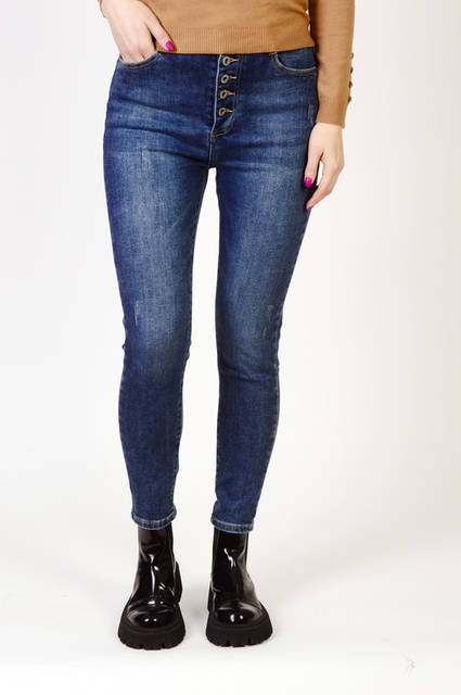 Стильные джинсы мом сток оптом Water Jeans 18Є, лот 12шт (8055) 127