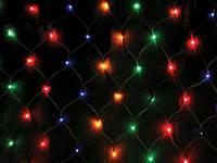 Гирлянда на Новый год LFDN-1515RGB: три цвета, 144 лампочки