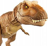 Інтерактивна фігурка Тірекса страхітливе гарчання з фільму Світ Юрського періоду Jurassic World GJT60