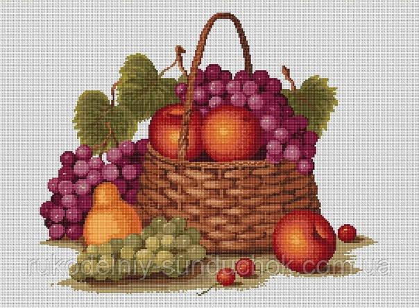 Набор для вышивки крестом Luca-S B450 Натюрморт с яблоками