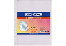 "Файл для документів А4 + Economix, фактура ""глянець"" (100 шт / уп)"
