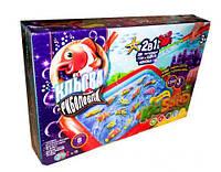 """Игра большая 2 в 1 """"Клевая рыбалка + KidSand"""" (укр), Dankotoys, развлекательные игры,детская настольная"""
