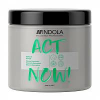 Boccтaнaвливaющая маска для волос Indola Act Now Repair Mask, 600 мл