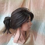 Парик длинный волнистый без челки шоколадный 1625G -6, фото 7