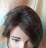 Парик длинный волнистый без челки шоколадный 1625G -6, фото 8
