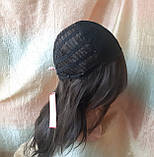 Парик длинный волнистый без челки шоколадный 1625G -6, фото 9