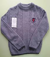 Детский свитер для мальчика подростка, р 8 лет